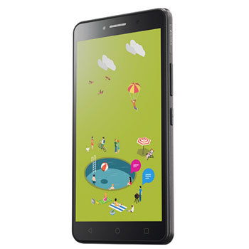 ALCATEL Pixi 4 9001D Volcano Black * Смартфон
