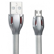 Micro USB Remax Laser Data Cable RC-035m серый * Дата-кабель USB