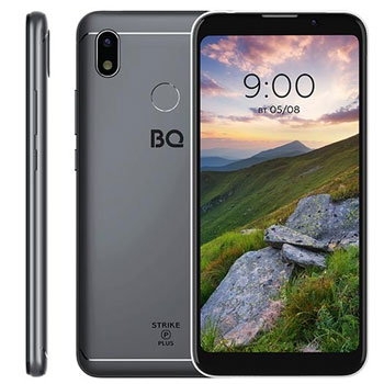BQ Strike Power Plus 5535L Gray * Смартфон