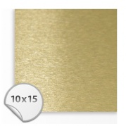 Пластинка Алюминий 100*150 сублим. pearlized gold SA102