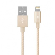 Apple 8-pin для iPhone, TTEC 2DKM02A Lighting MFI, золотой * Дата-кабель USB